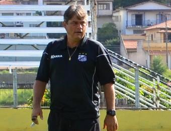 Técnico Marcelo Veiga Bragantino (Foto: Danilo Sardinha/GloboEsporte.com)