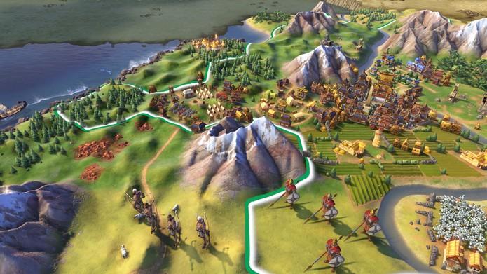 Civilization 6 continua com a pegada lúdica e simples (Foto: Divulgação/2K Games)