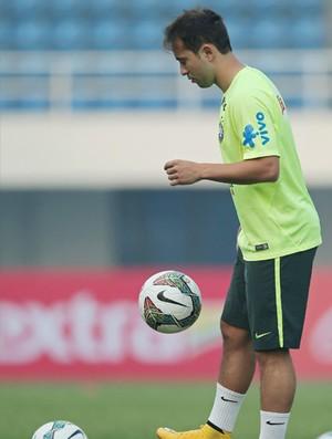 everton ribeiro treino seleção brasileira (Foto: Heuler Andrey/Mowa Press)
