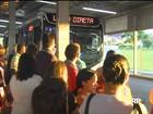 Greve de ônibus completa uma semana sem acordo em Cascavel