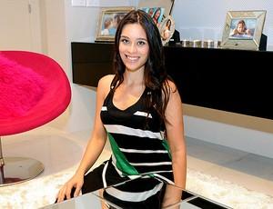 clarice esposa do lateral marcelo real madrid (Foto: Alexandre Durão / Globoesporte.com)
