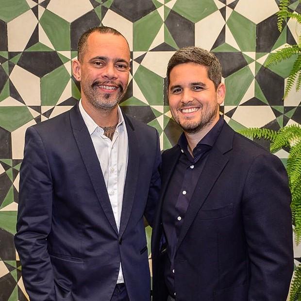 Ricardo Cruz, diretor de redação da GQ e Rony Meisler, CEO do Grupo Reserva (Foto: Fábio Cordeiro/ Ed. Globo)
