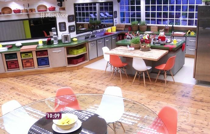 Cozinha do BBB16 (Foto: TV Globo)