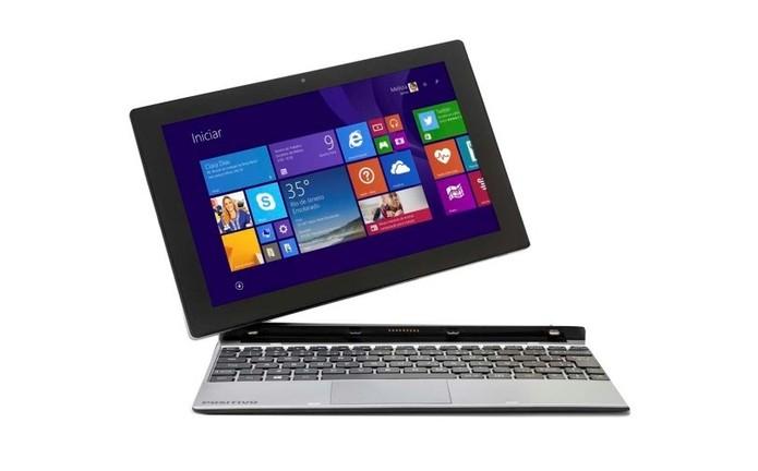 Positivo ZX3735G é um notebook conversível com Windows 8.1 e preço baixo (Foto: Divulgação/Positivo)