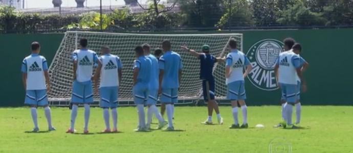 Base do Palmeiras ganha manual de orientação para os jogadores (Foto: reprodução)