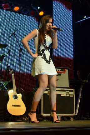 Anitta se apresenta em festival de música em Canela, Rio Grande do Sul (Foto: Leo Marinho/ Ag. News)