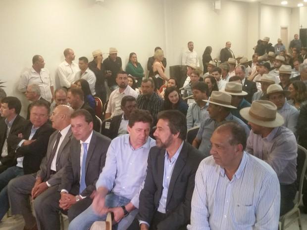 Plano teve a adesão de todos os prefeitos, segundo Blairo Maggi, o que deve facilitar a implantação do plano em Rondônia (Foto: Toni Francis/G1)