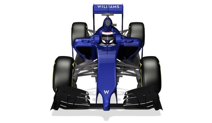 Williams apresentou nesta quinta-feira as primeiras imagens de seu novo carro  (Foto: Divulgação)