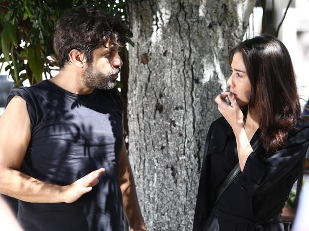 Marjorie Estiano e Pedro Vasconcellos se preparam para Império  (Foto: Raphael Dias / Gshow)
