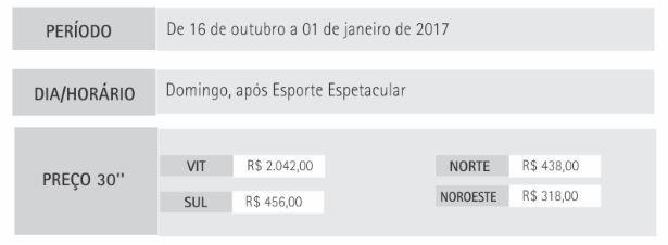 Preço Esquenta (Foto: Marketing TV Gazeta)