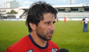 Atacante Rodriguinho aposta na velocidade para garantir titularidade no próximo domingo (Foto: Arquivo Pessoal/Rodriguinho)