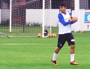 Santos treino Gabigol (Foto: Lincoln Chaves)