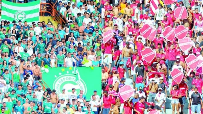 Goiás x Vila Nova - torcidas (Foto: O Popular)