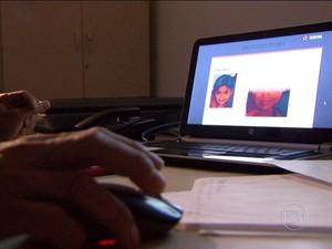 Arte e computação envelhecem fisionomias (Foto: Rede Globo)