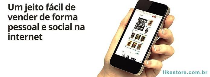 LikeStore é uma plataforma nacional que cria lojas virtuais no Facebook e Instagram (Foto: Divulgação/LikeStore)