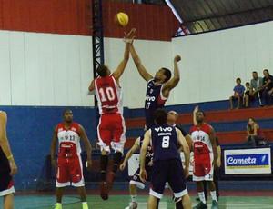 América-SP x Franca - Paulista de basquete (Foto: Lucas Diniz/Vivo Franca)