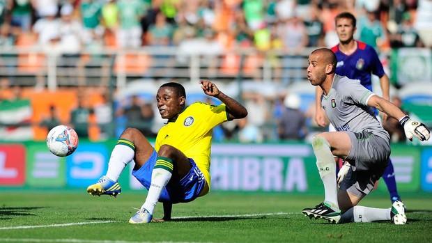 Palmeiras rafael santos São Caetano série B (Foto: Marcos Ribolli / Globoesporte.com)