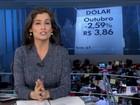 Dólar fecha em alta, mas tem primeira queda mensal desde junho
