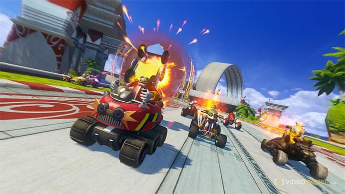 Sonic & All-Stars Racing Transformed mais em conta na Xbox Live (Foto: Divulgação/Sega)