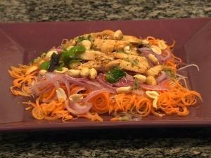 Salada quente do Vida e Saúde (Foto: Reprodução, RBS TV)