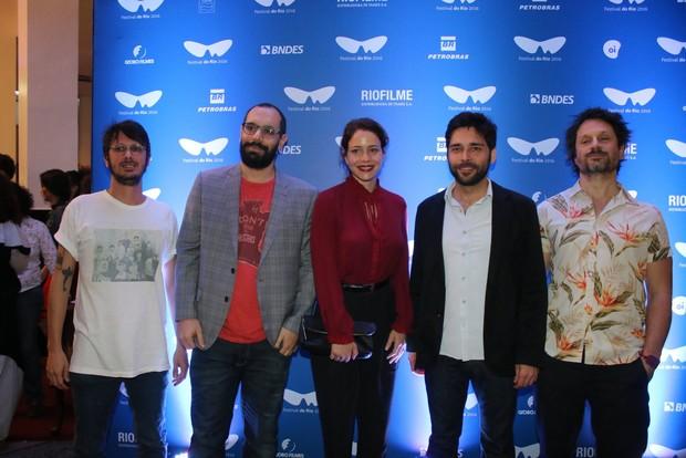 Leandra Leal e elenco do filme (Foto: Fabio Moreno/AgNews)
