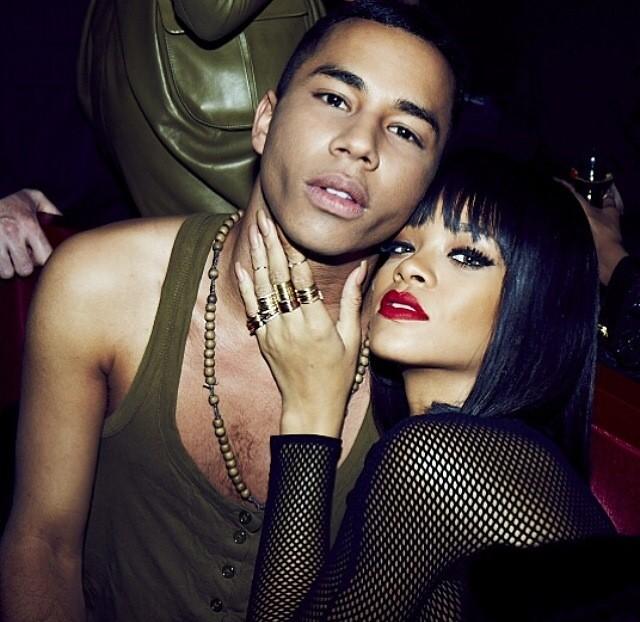 Olivier e Rihanna (Foto: Reprodução/ Instagram)