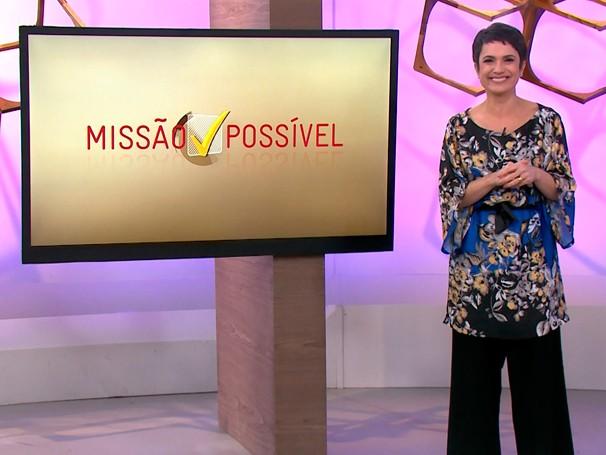 Sandra convida a exercitar a gentileza e a cordialidade durante a semana (Foto: Globo)