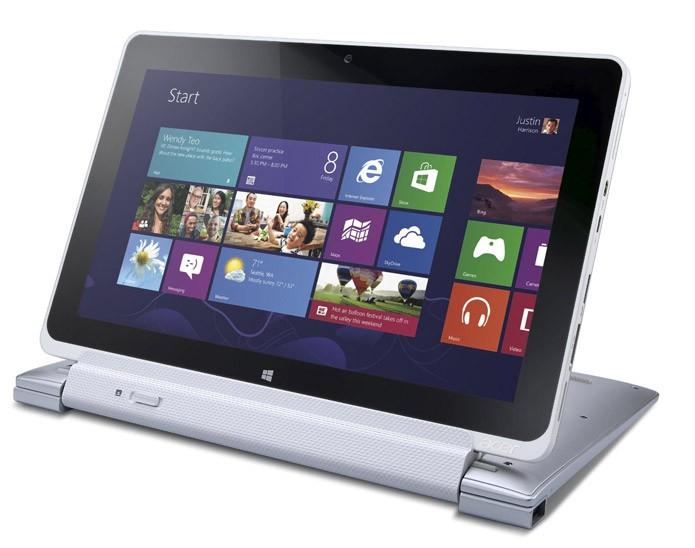 Modelo da Acer também possui tela destacável (Divulgação/Acer)
