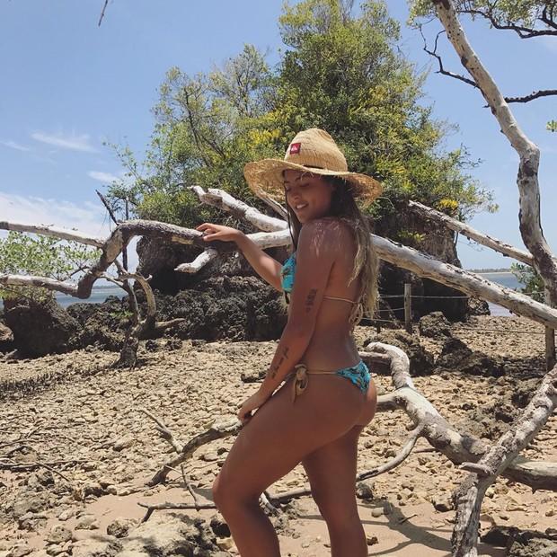 Danielle Favatto em foto no Instagram (Foto: reprodução/Instagram)