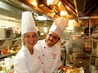 Karina Bacchi prepara prato que levará seu nome em restaurante de SP