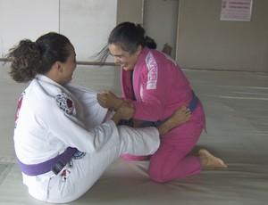 Treino de jiu-jítsu (Foto: Reprodução/ TV Rondônia)