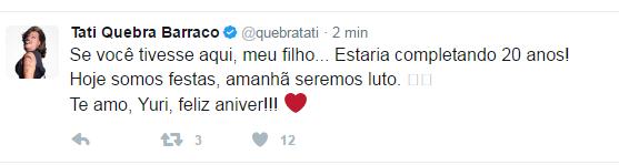 Tati Quebra Barraco (Foto: Reprodução/Twitter)
