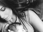 Rubia Baricelli posta foto fofíssima com a filha: 'Meu tesouro'