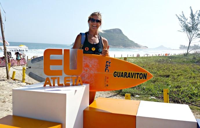 EuAtleta - programa Andrea Lopes (Foto: Renata Domingues)