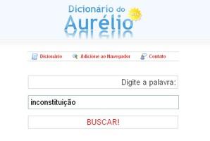 Dicionário do Aurélio