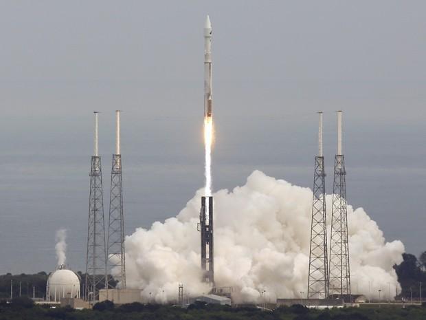 Sonda Maven, da Nasa, é lançada do Cabo Canaveral, da Flórida, em novembro de 2013 (Foto: AP Photo/John Raoux/Arquivo)