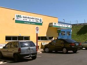 Fachada da UPA Central de Araraquara (Foto: Paulo Chiari/EPTV)