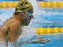"""Thiago prevê sacrifício em final com Phelps: """"Sair sem conseguir andar"""""""