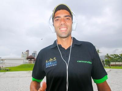 Chicão, triatleta (Foto: Cleber Akamine)