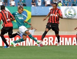 Atlético-PR perde para o Goiás (Foto: Gustavo Oliveira/Site oficial do Atlético-PR)