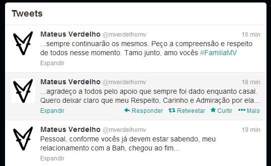 Mateus Verdelho (Foto: Twitter / Reprodução)