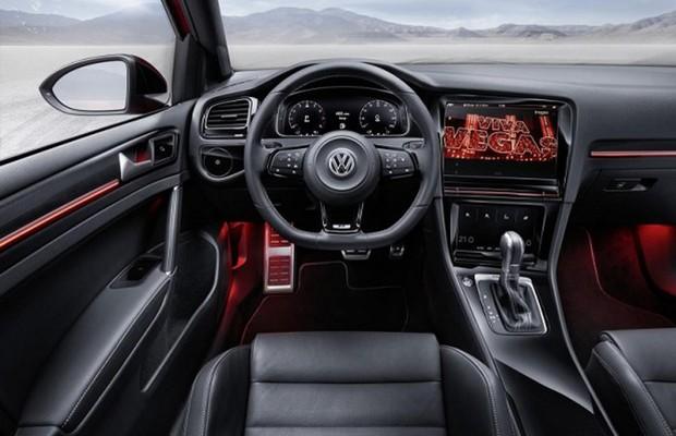 Volkswagen Golf - Interior (Foto: Divulgação)