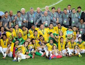 Brasil campeão Copa das Confederações  (Foto: Alexandre Durão / Globoesporte.com)