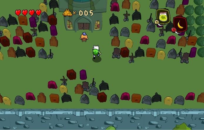 Até o cemitério do primeiro episódio aparece no jogo(Foto: Distribuição)