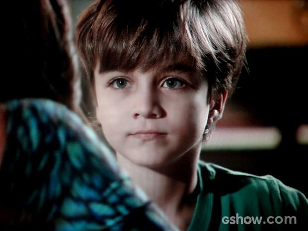 Ivan quer saber se Marina vai ocupar o lugar de Cadu (Foto: Em Família / TV Globo)