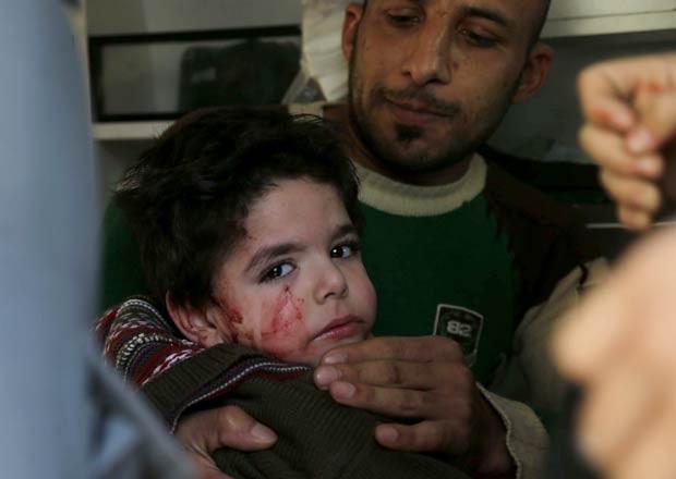 Crianças do orfanato ficaram feridas com uma das explosões no sul de Beirute (Foto: AFP)