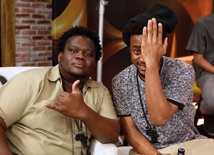 dois africanos superstar web (Foto: Isabella Pinheiro/Gshow)