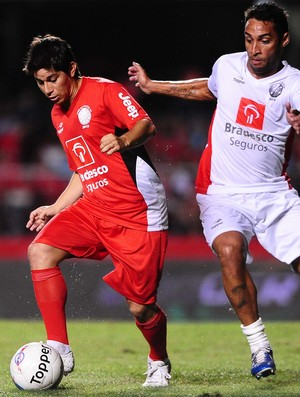 Conca e Ibson no jogo das Estrelas  (Foto: Marcos Ribolli / Globoesporte.com)