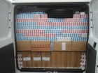 Polícia apreende mais de 50 mil maços de cigarro contrabandeados