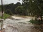 Defesa Civil alerta para risco de  deslizamentos e inundação em SC
